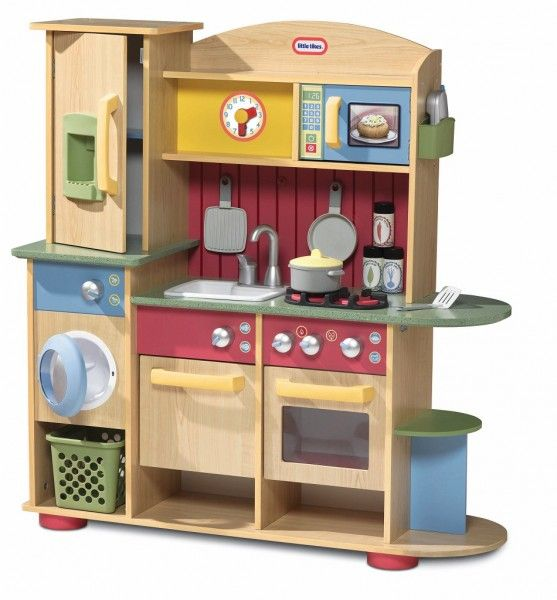 Wood Play Kitchen Set cookin' creations premium wood kitchen | kitchen play | pinterest