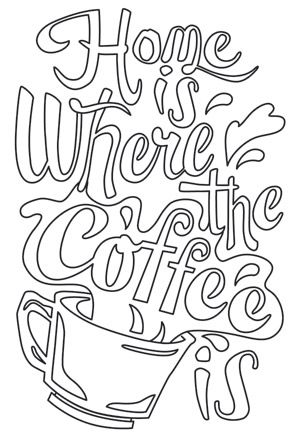 Where The Coffee Is Design Uth6653 From Urbanthreadscom