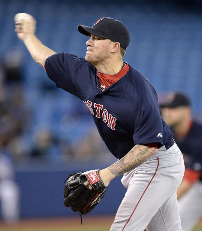 April 25, 2014: Jake Peavy and the Red Sox thrash Blue Jays 8-1 | Boston Herald