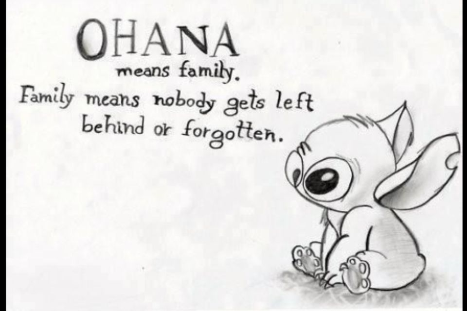 Ohana Means Family Quote Tattoo: Things I Would Love To Have
