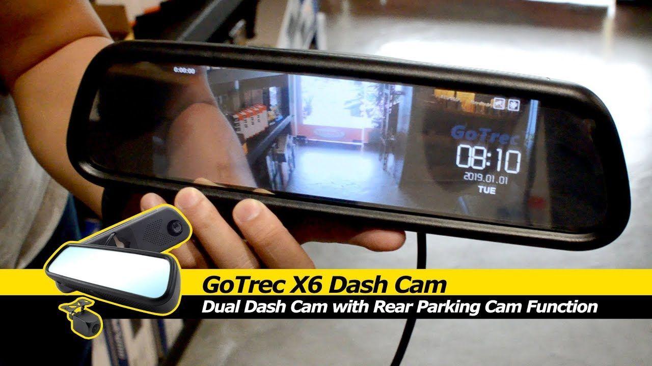 Gotrec just launched the gotrec x6 dual dash cam this