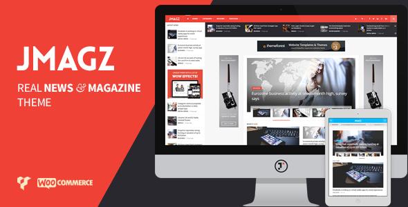 JMagz - Tech News Review Magazine WordPress Theme . JMagz has ...