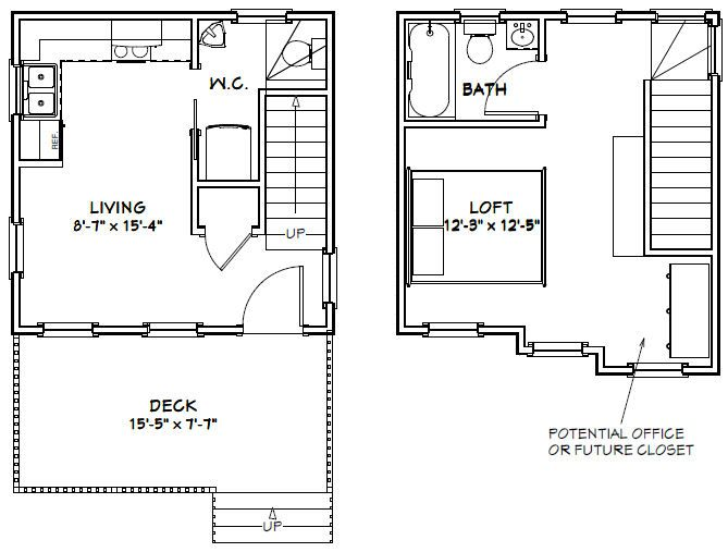 16x16 House -- #16X16H6 -- 462 sq ft - Excellent Floor Plans ... on house floor plans 30x40, house floor plans 24 x 36, house floor plans 24x40, house floor plans 26x26, house floor plans 16x28, house floor plans 14x30, house floor plans 50x50, house floor plans 15x25, house floor plans 16x30, house floor plans 36x48,