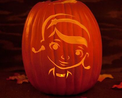 Minnie Mouse Pumpkin-Carving Template | Pumpkin carvings, Mike ...