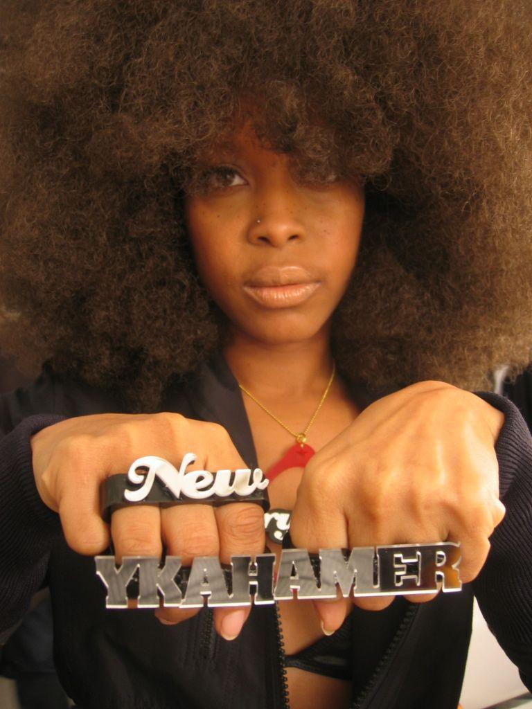 """Miss Badu """"New Amerykah"""" Natural hair styles, Cool"""
