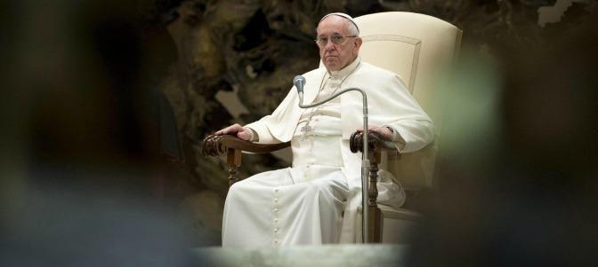 El Papa Francisco: 'Cada país tiene derecho a controlar sus fronteras' – The Bosch's Blog