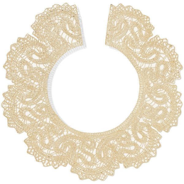 Valentino - Gold-tone Necklace (3,320 CAD) ❤ liked on Polyvore featuring jewelry, necklaces, gold, couture jewelry, gold colored necklace, gold tone necklace, gold necklace and goldtone jewelry