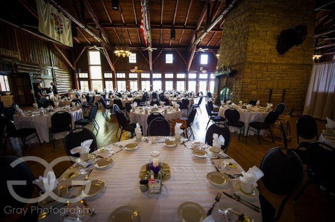Starved Rock Wedding Reception