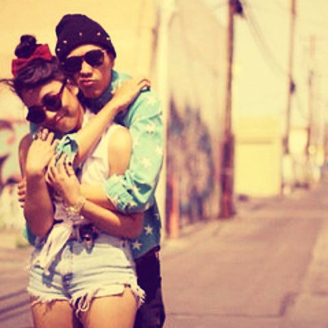 Cute Couple With Swag
