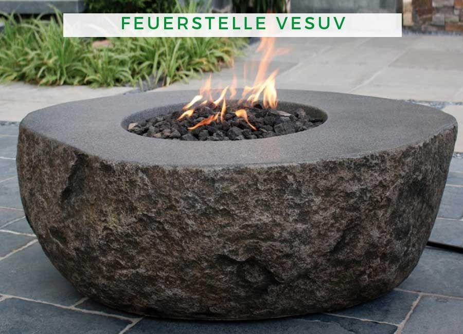 Gas Feuerstelle Vesuv Feuerstelle Feuerstellen Im Freien Feuerstelle Garten