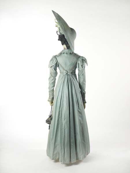 Silk Pelisse, Museum of London, c. 1823