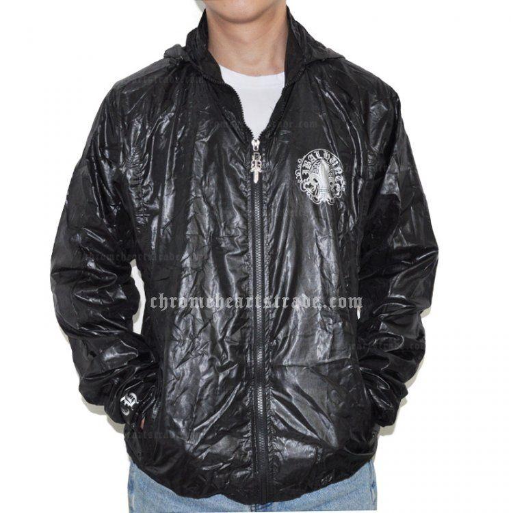 5012b2074b4 Cheap Black Chrome Hearts Windbreak with Spear Point Flower  Chrome Hearts  Jacket  -  124.00   Eyewear