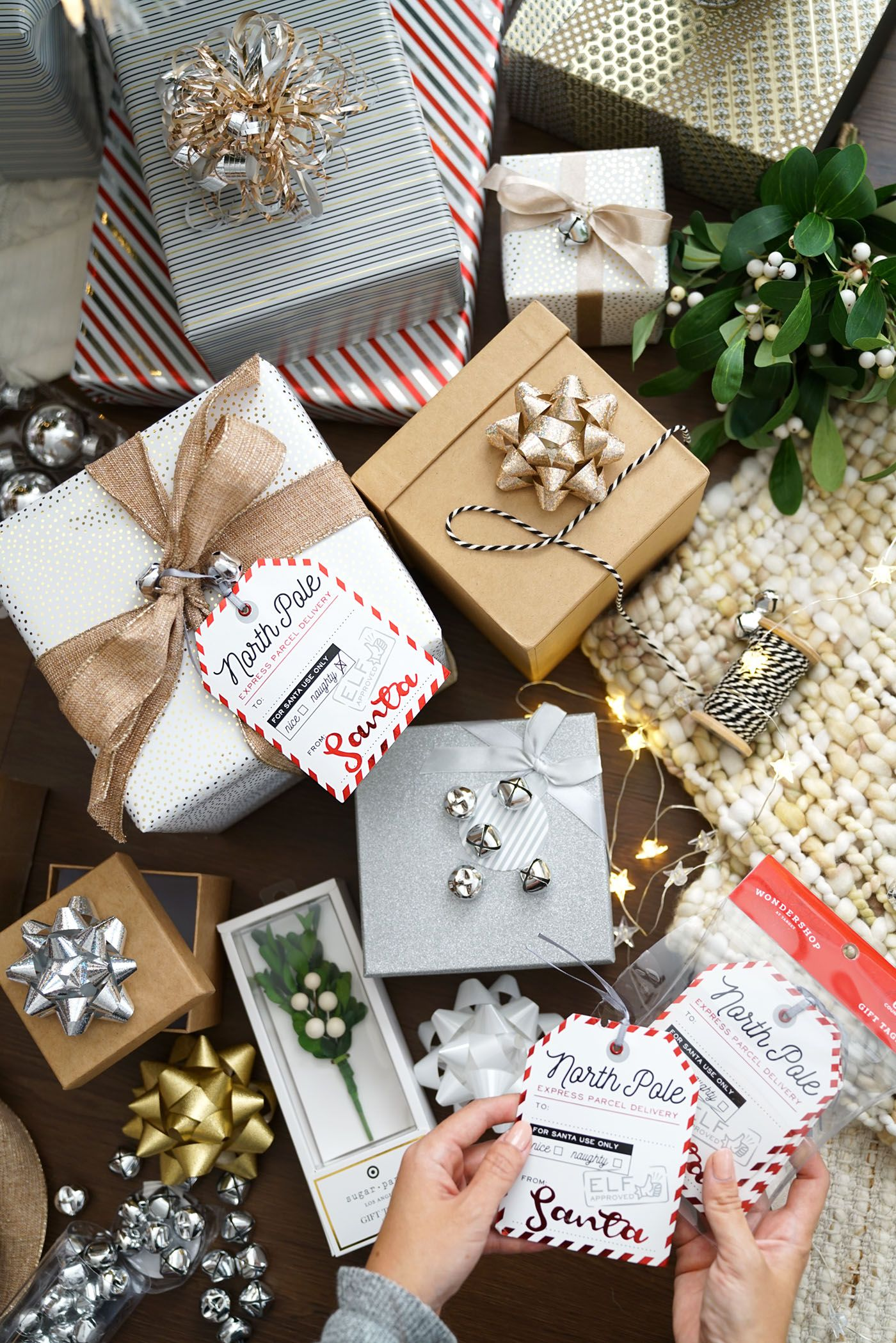 Christmas Home Decor + Cute Gift Wrap Finds | Gift ...