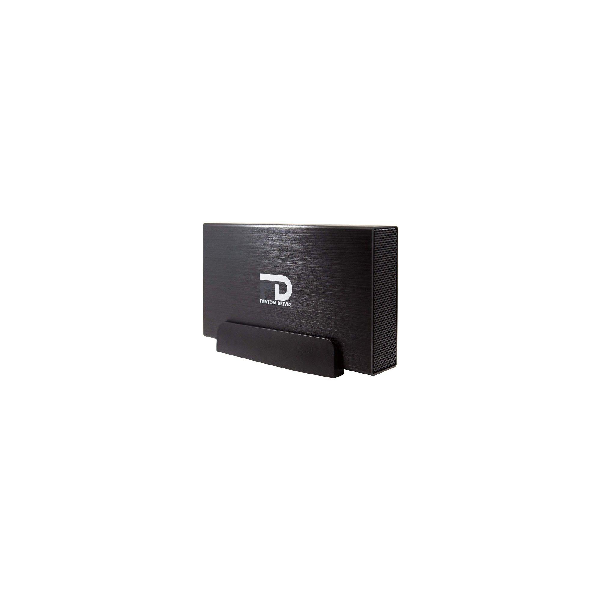 eSATA Aluminum External Hard Drive Fantom Drives 8TB Gforce3 USB 3.0