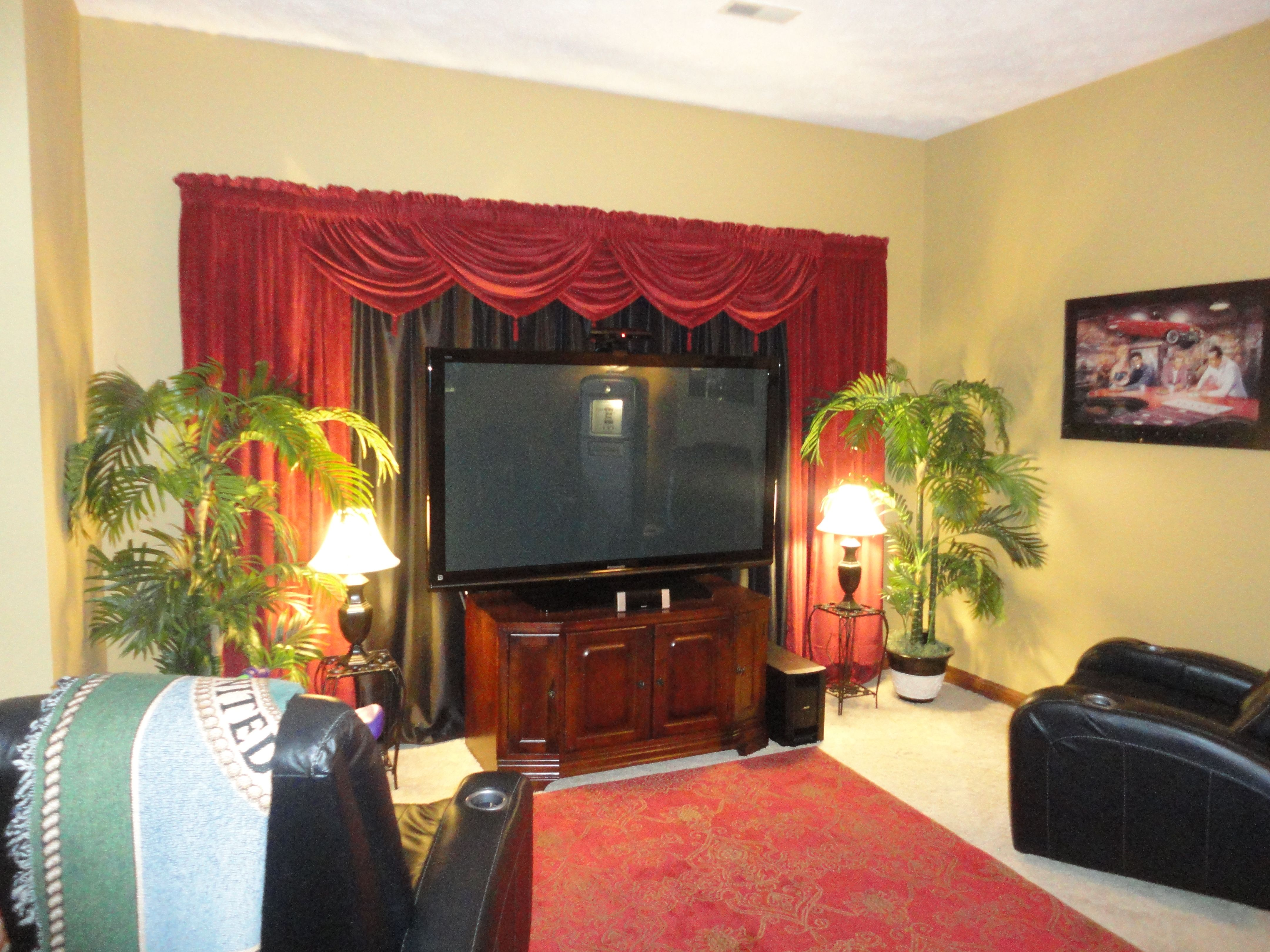Home interior view home theater view   home decor  pinterest