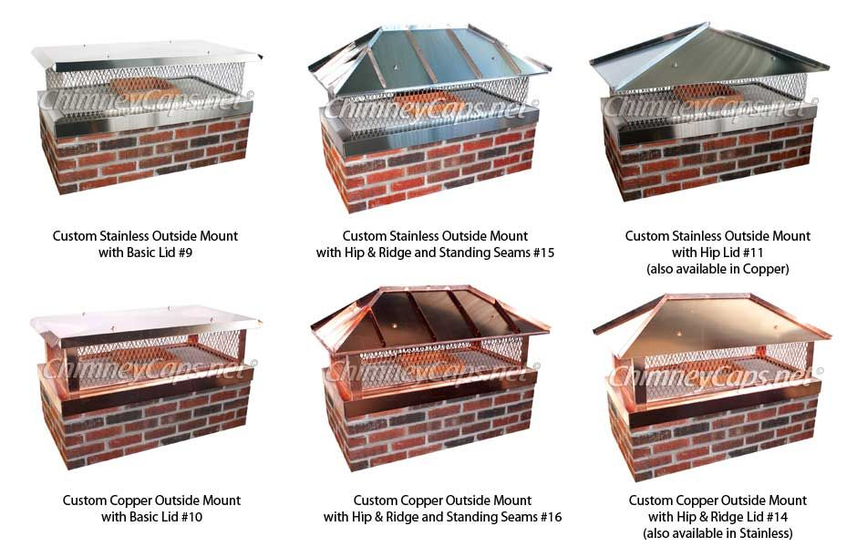 Owens Chimney - Custom Outside Mount Chimney Caps - Owens Chimney - Custom Outside Mount Chimney Caps A Home Up