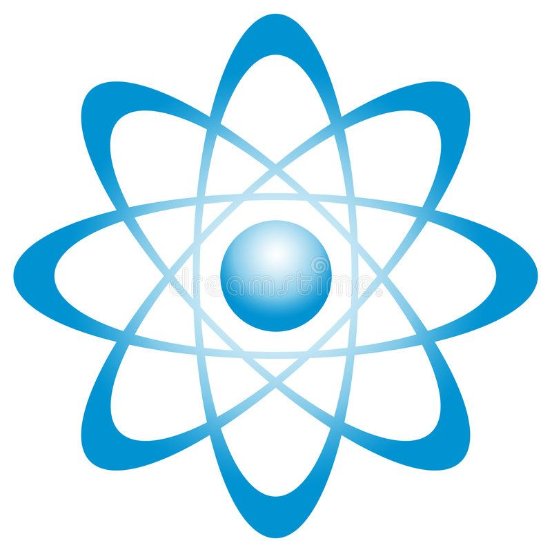 Atom with orbit Illustration of an atom This can be as well a center with orbi