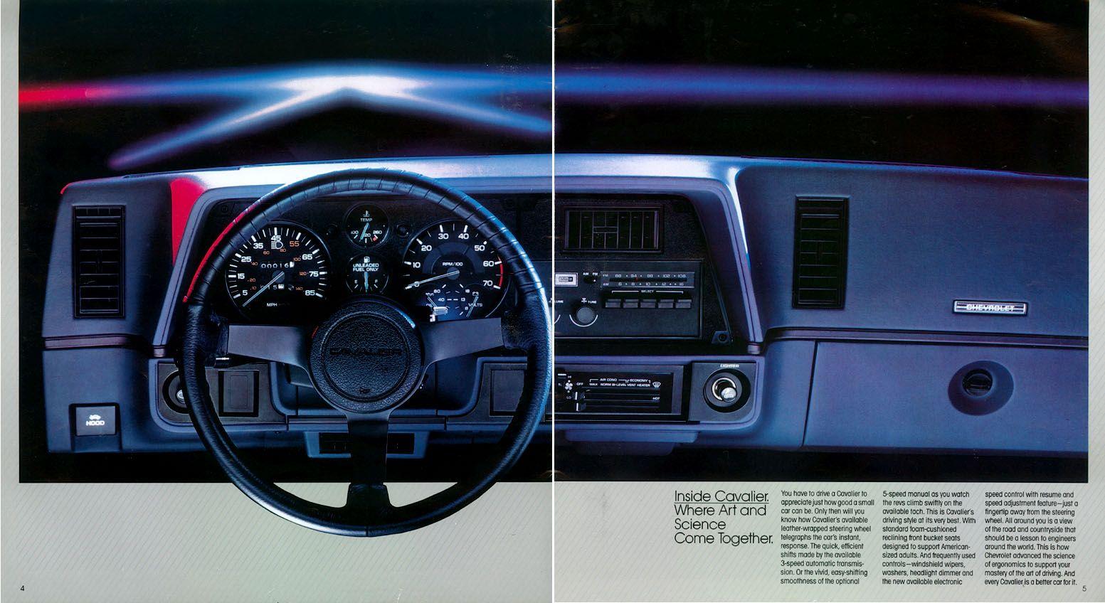 1984 Chevrolet Cavalier-03 | Cars | Pinterest | Chevrolet and Cars