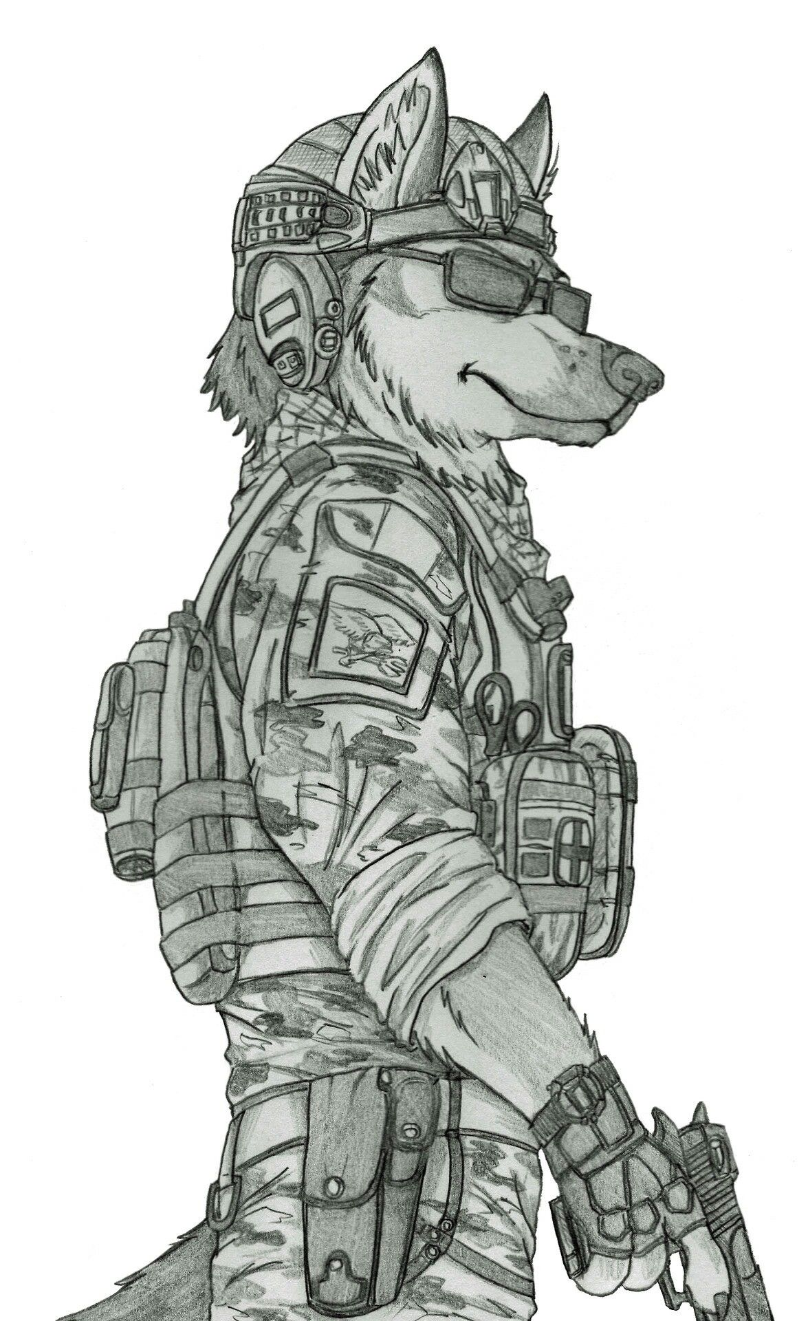 Reporting for duty Furtopia Pinterest