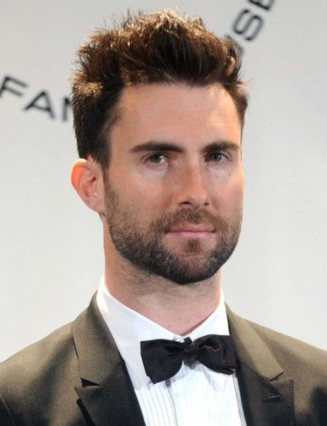 Adam Levine Haircut Hair Short Haar Runde Gesichter