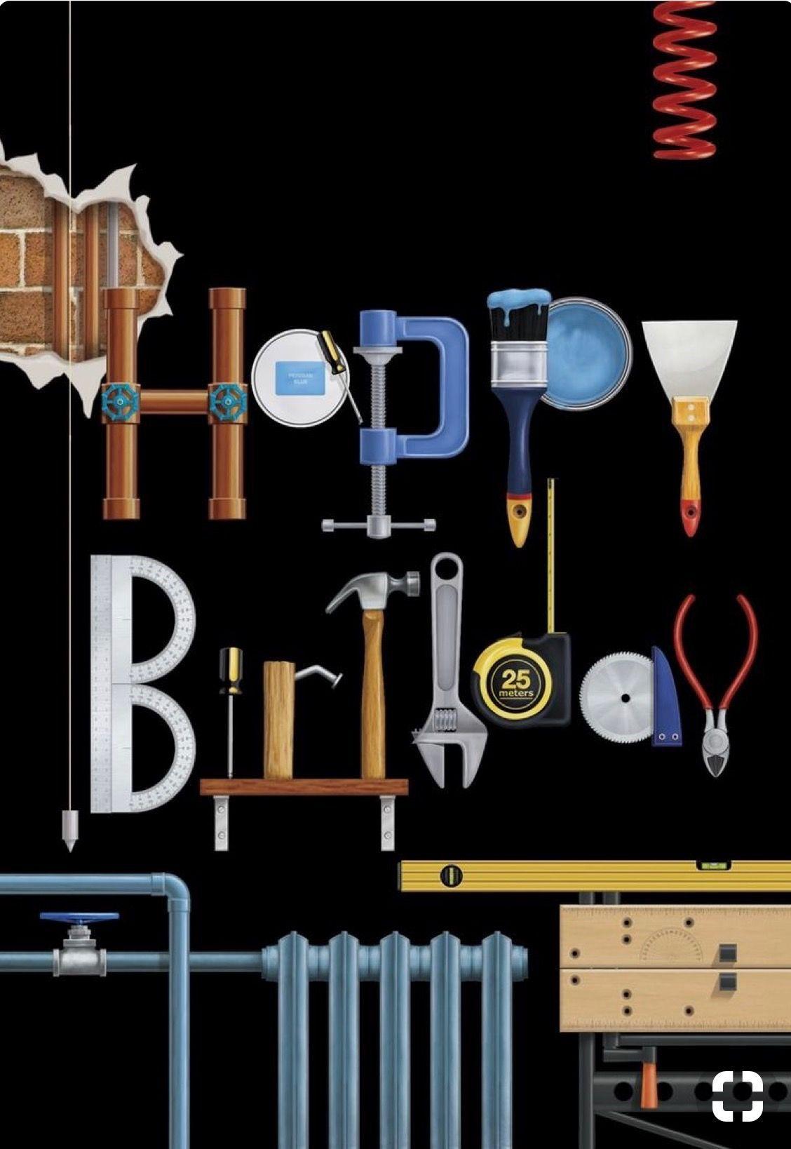 Handyman Happy Birthday Kartki Urodzinowe 40 Urodziny Fotobudka