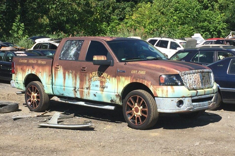 Lincoln Mark Lt Rust Wrap Lincoln Mark Lt Mini Van Truck Paint