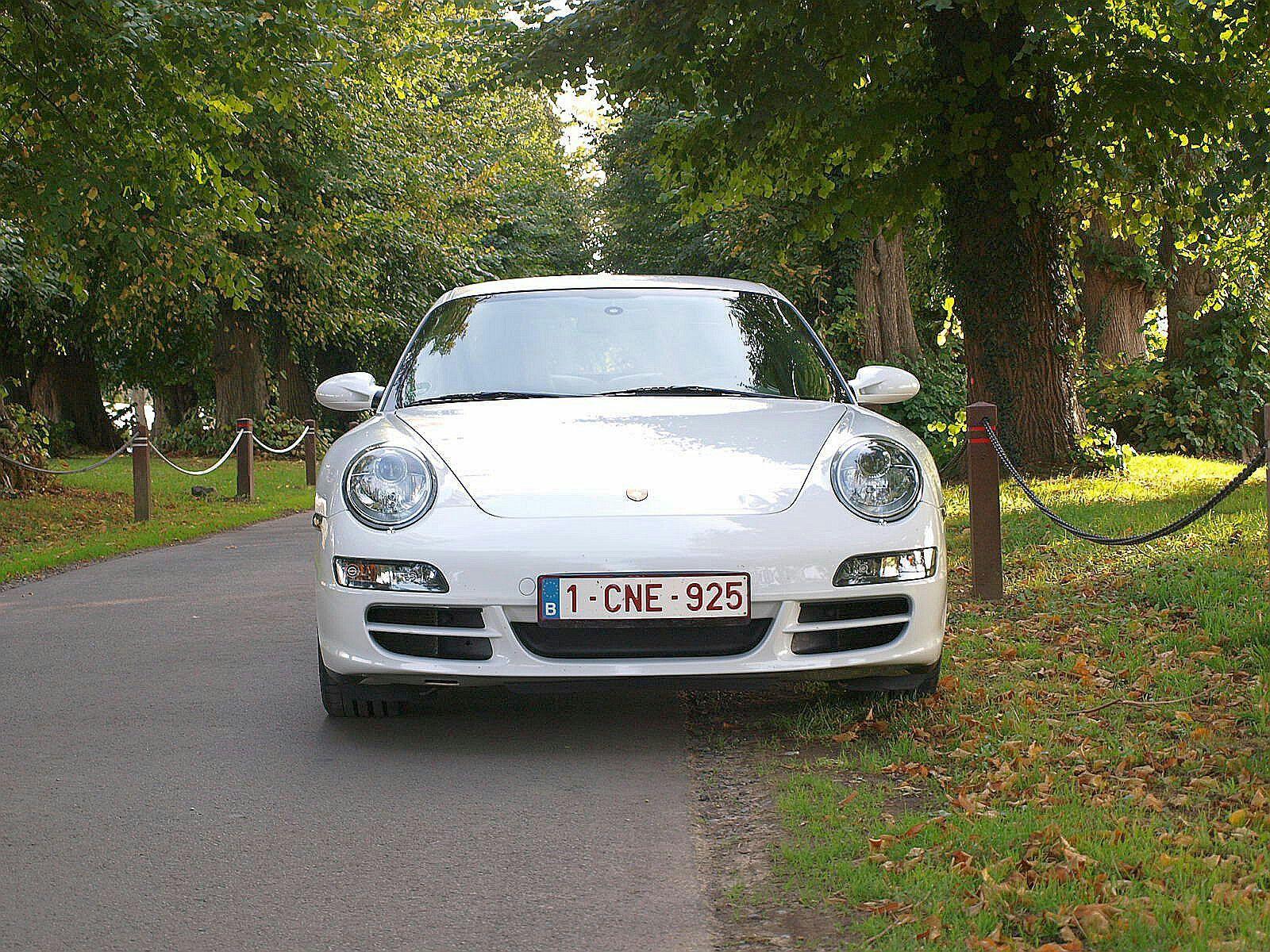 Porsche 997 Carrera S White 2006 997 Carrera S