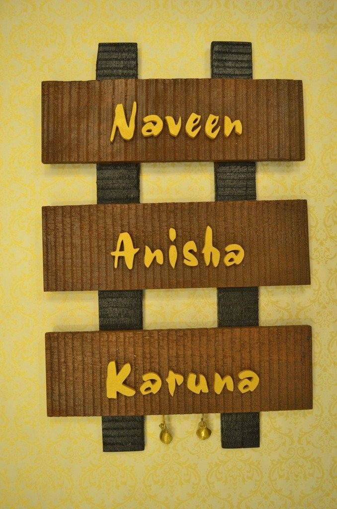Pin by Silkrute cross border e commerce on Wall decor Name Plates ...