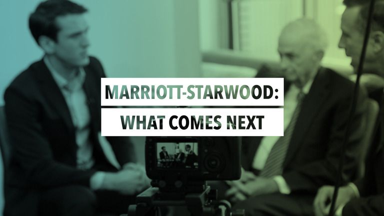 Bill Marriott And Arne Sorenson Sit With Linkedin Managing Editor