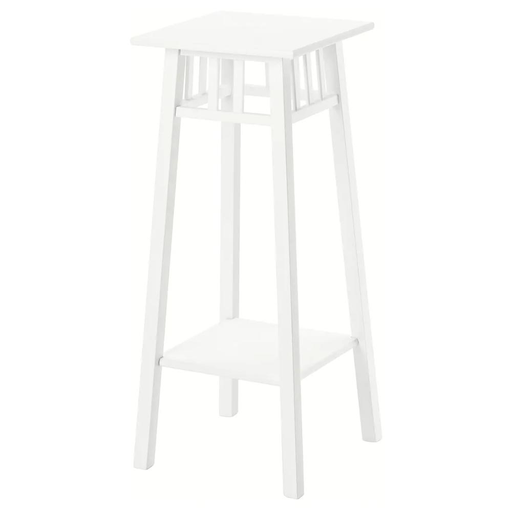 "LANTLIV Plant stand, white, Length 12 ½"" IKEA i 2020"