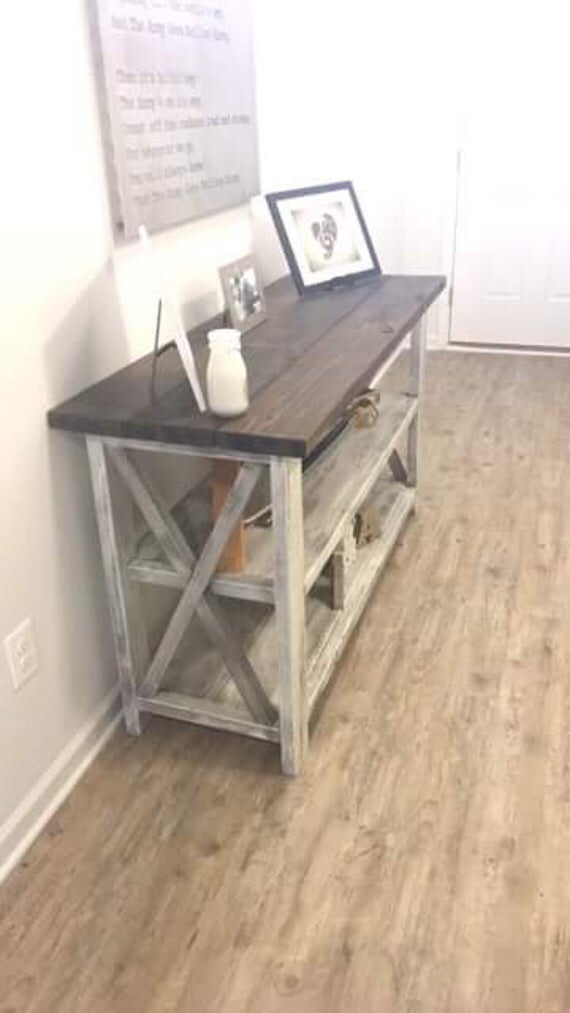 rustic wooden buffet table rustic console table on modern farmhouse patio furniture coffee tables id=68028