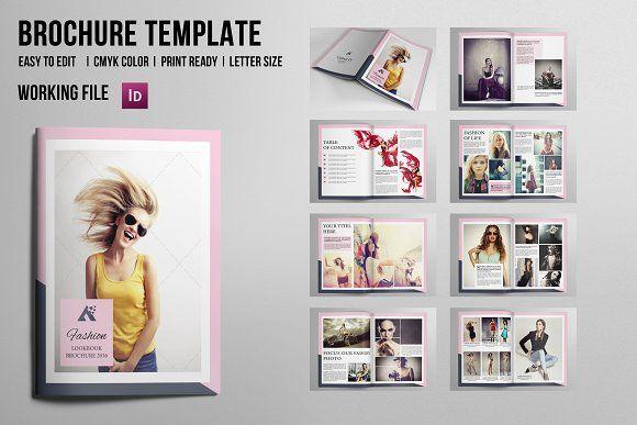 Fashion Photography Magazine-486 by Template Shop on @creativemarket - fashion design brochure template