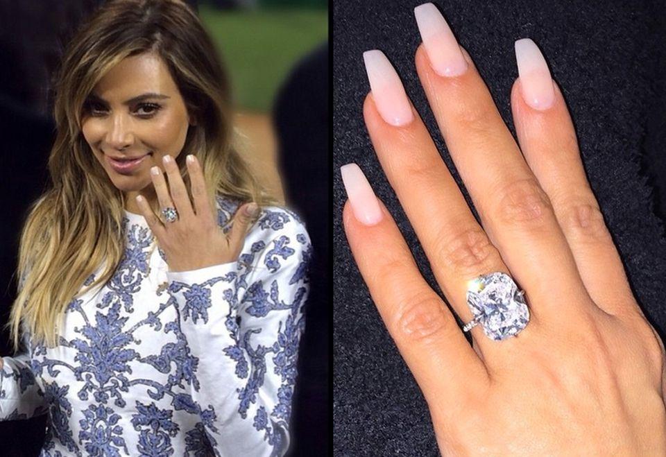 Najdrozsze Pierscionki Zareczynowe Gwiazd Zdjecia Celebrity Wedding Rings Big Engagement Rings Large Wedding Rings