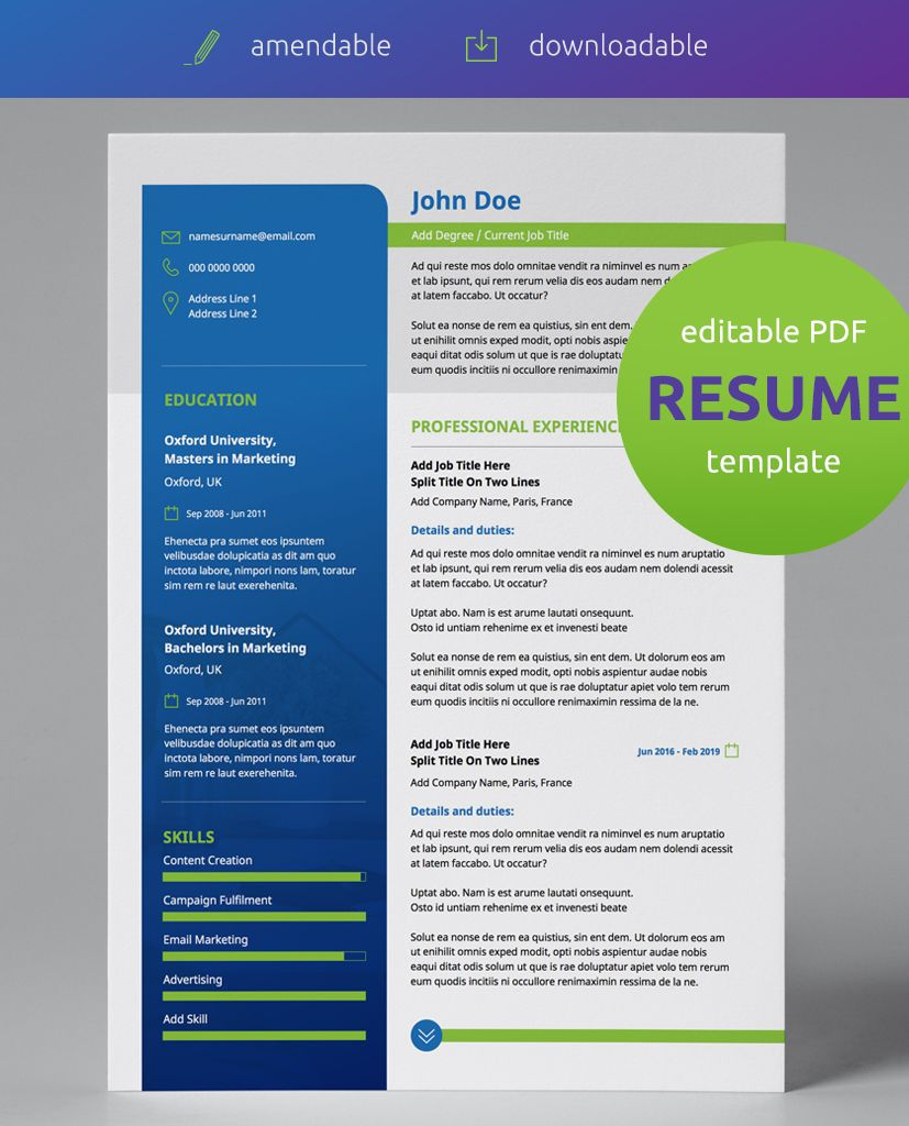 Green Grass and Blue Skies Vol 2 Modern Double Page CV