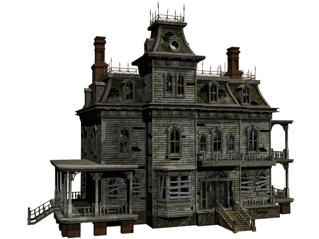 Haunted house 04 png stock by roys on for Pinterest haunted house