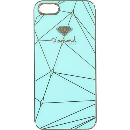 Show that you are living that Diamond Life while protecting your iPhone in this snap on Brilliant iPhone 5 case in Diamond Blue. With a Brilliant Diamond Supply logo on the exterior and chrome details throughout snap on case has good looks and plenty of d