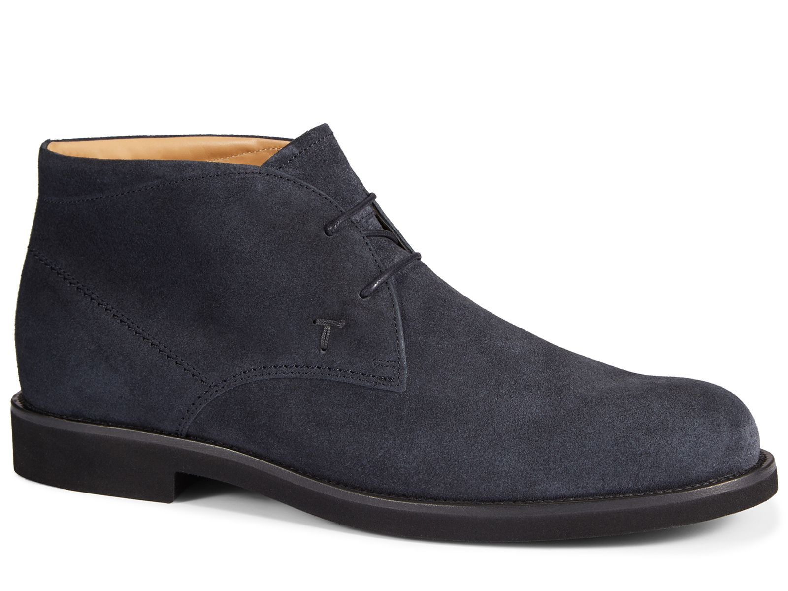 dc36765ea3e Tod s men s ankle boots in blue Suede leather