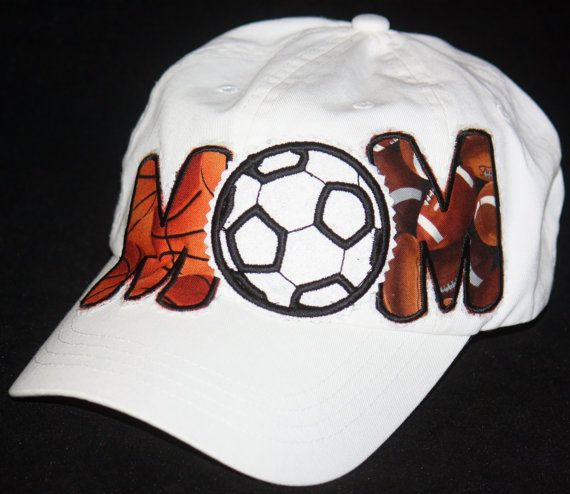 982bb292bac Custom soccer hat basketball football MOM hat by SpiritLoft ...