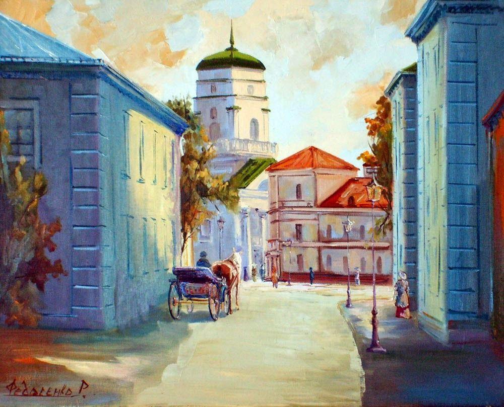 Fedosenko Roman, 1970 ~ Figurative / Impressionist painter