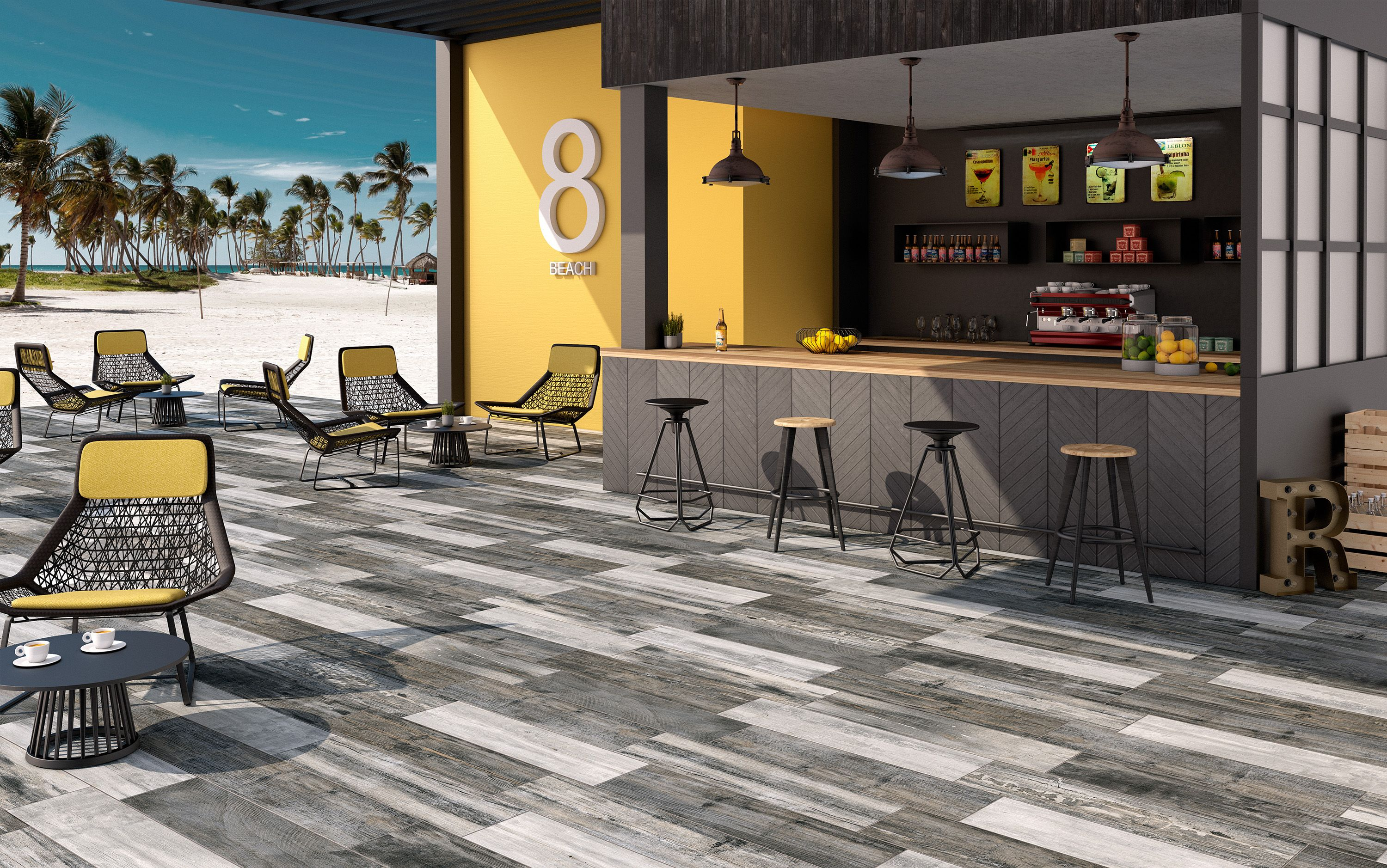 Retro collection colorker colorker outdoors tiles Carrelage retro