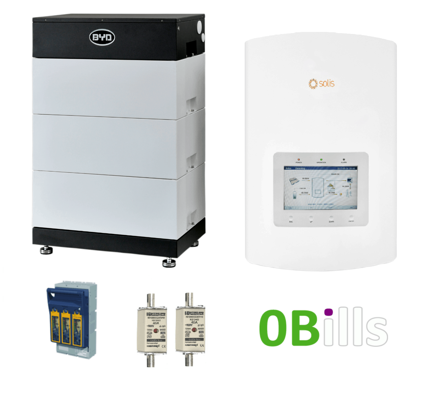 Solis Hybrid 5kw With Byd B Box L 10 5kw Solar Battery Storage Kit In 2020 Solar Battery Storage Kits Battery Storage