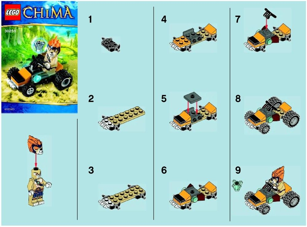 Lego Chima Instructions Lego Legends Of Chima Instructions Lego