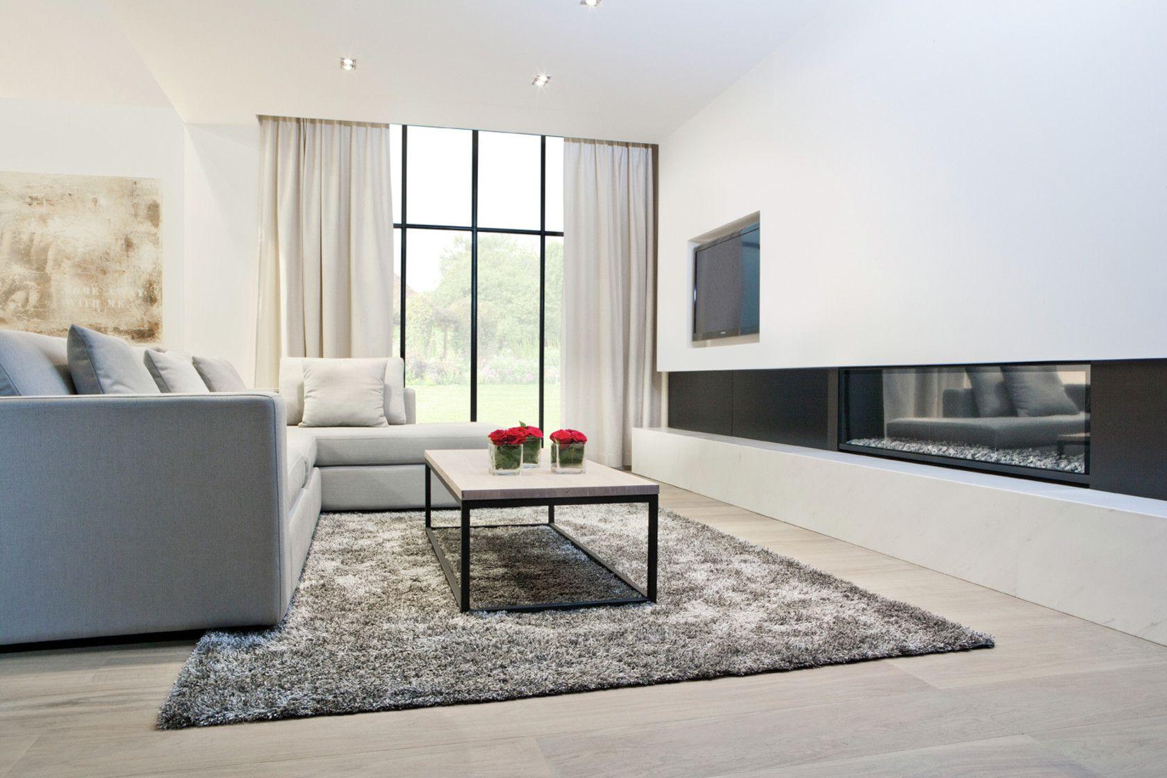 Interieur badkamer haardwand dressing slaapkamer for Interieur badkamer