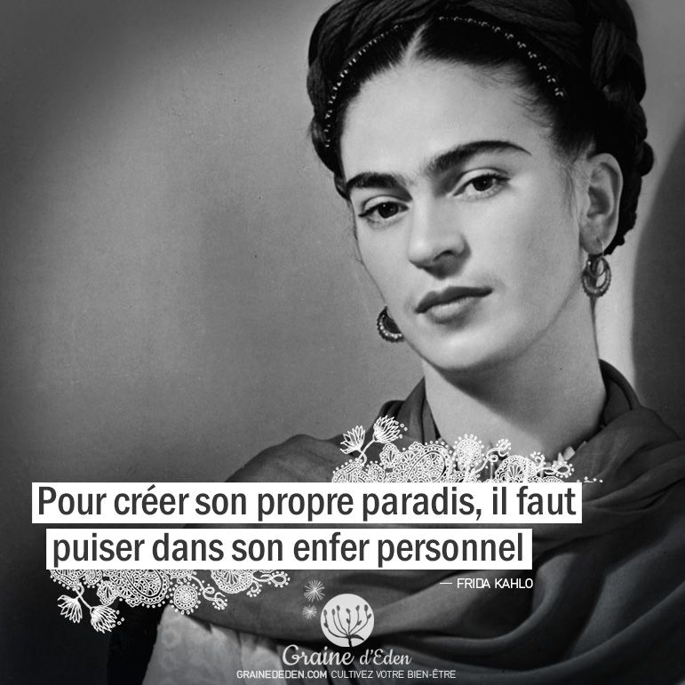 pour cr u00e9er son propre paradis  il faut       citationdujour  quote  quoteoftheday