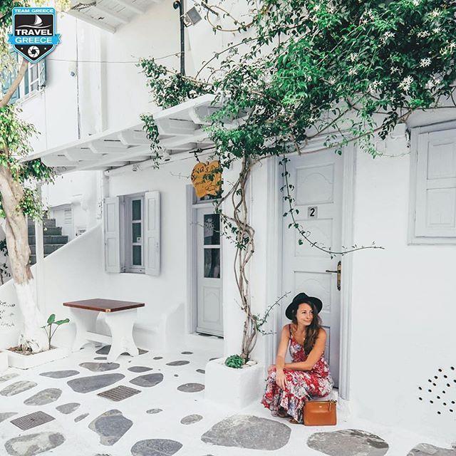 Mykonos, Greece  #mykonos #greece  Photo by @ju.hu.lia