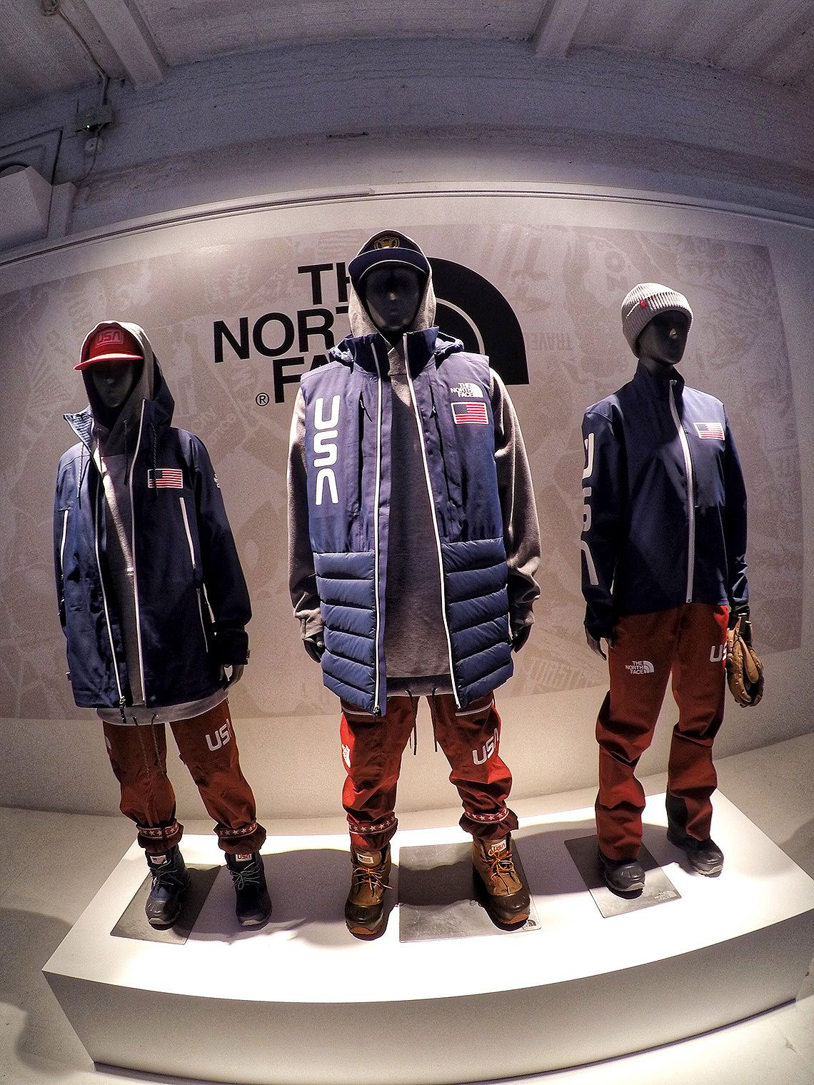 b448e503f The 2018 US Freeskiing Olympic Team uniforms; The North Face outfits ...