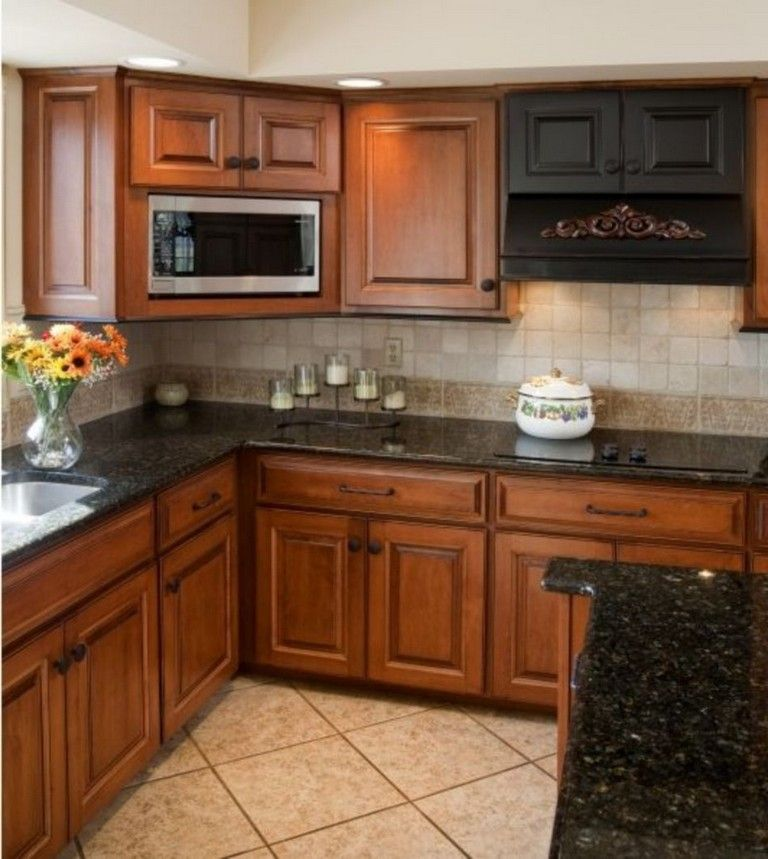 Kitchen With Dark Cabinets Light Countertops: 70 Stunning Kitchen Light Cabinets With Dark Countertops