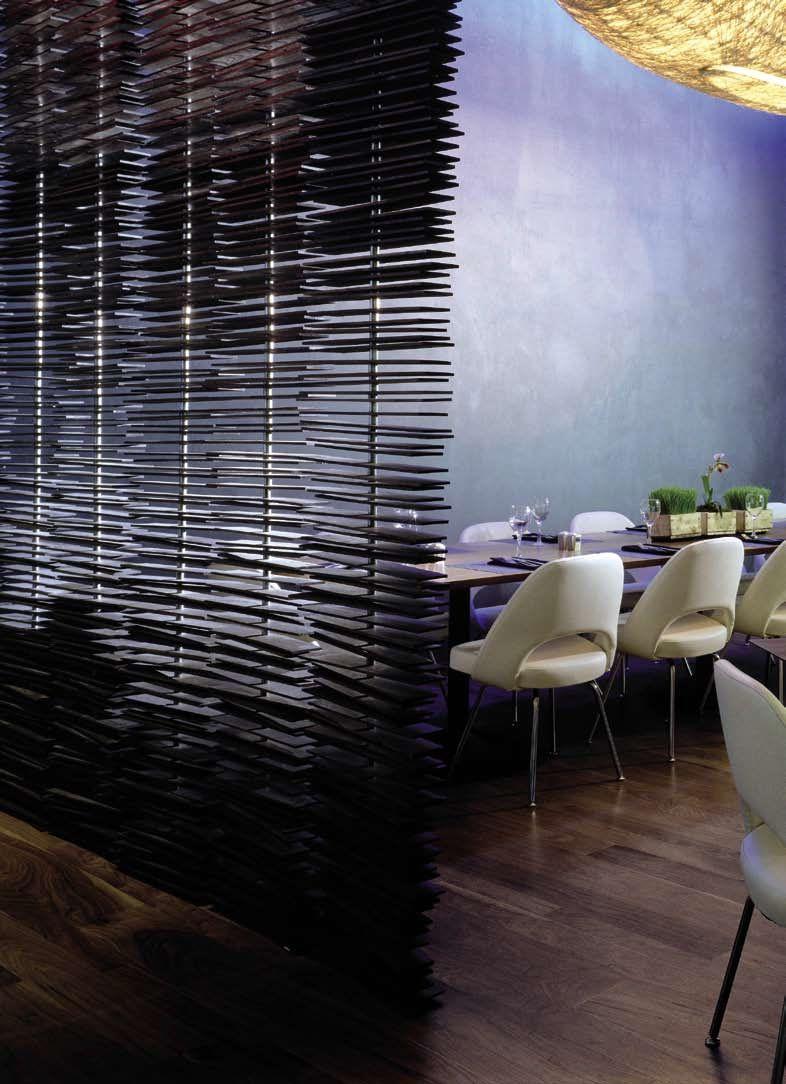 w new york times square / blue fin restaurant / yabu pushelberg