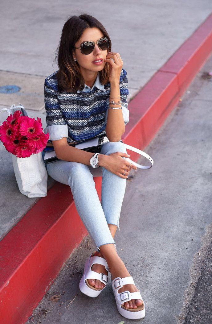 363e5e56275c How To Style  Birkenstock Sandals For Women 2017