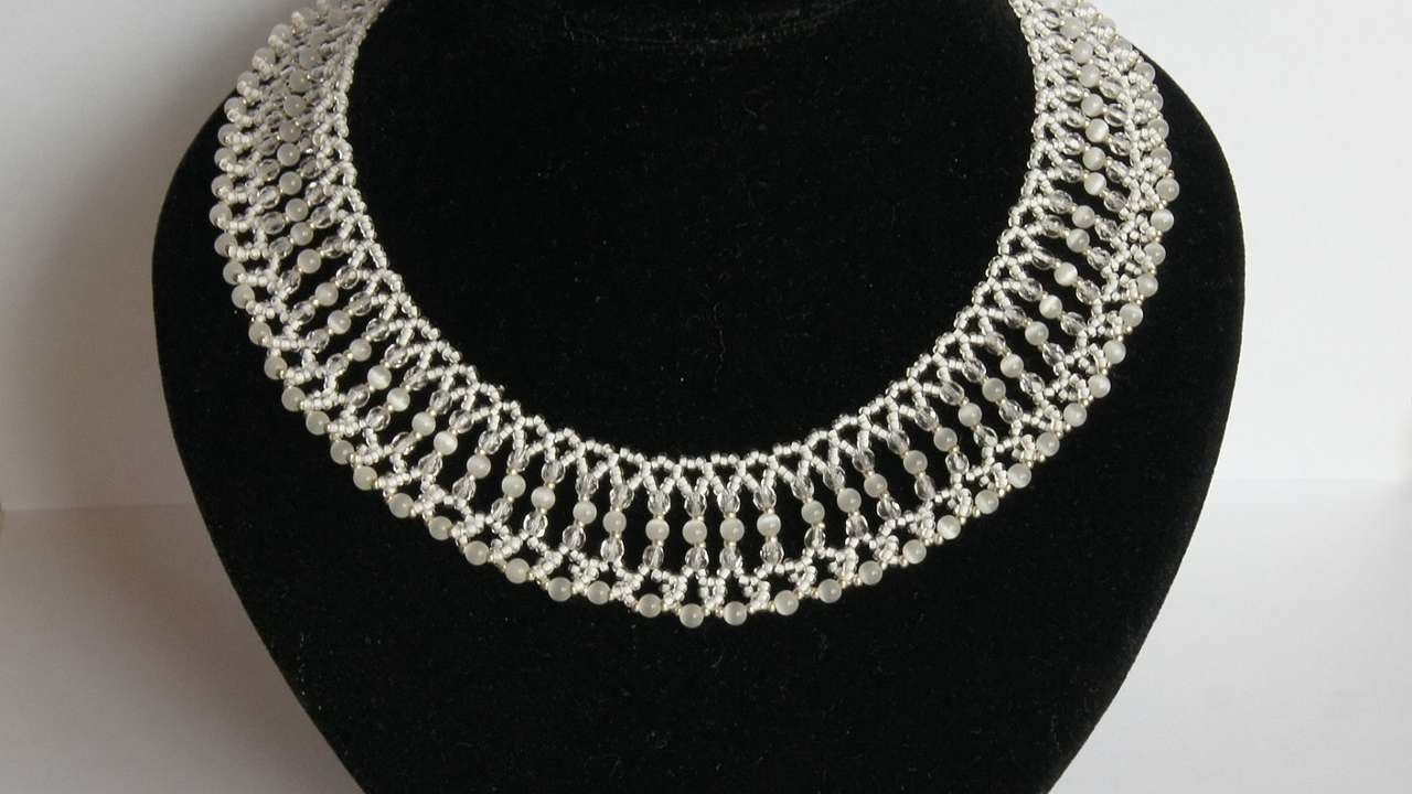 How To Make Gentle Bridal Necklace - DIY Style Tutorial - Guidecentral
